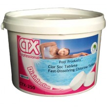 Clor Rapid CTX-250, 5 Kg - tablete